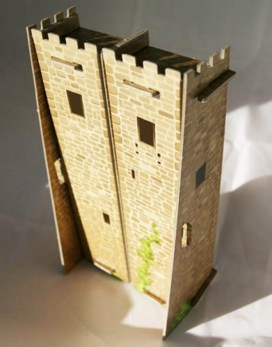 Wieża na kafelki Carcassonne