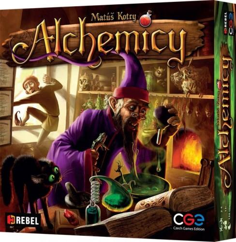 Alchemicy (z kartą Pierścień Przysługi)