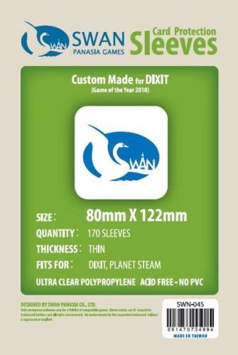 Koszulki na karty Swan Panasia Dixit 80x122 mm thin (cienkie) 170 sztuk