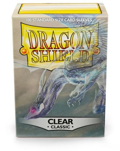 2566870e6a96ff Koszulki na karty Dragon Shield Classic - przezroczyste - 100 sztuk ...