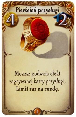 Alchemicy: karta Pierścień Przysługi