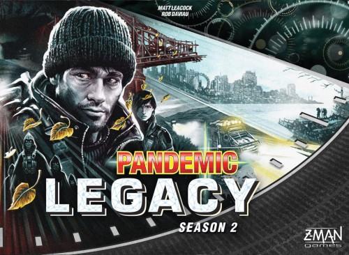 Pandemic Legacy - Season 2 - Black edition