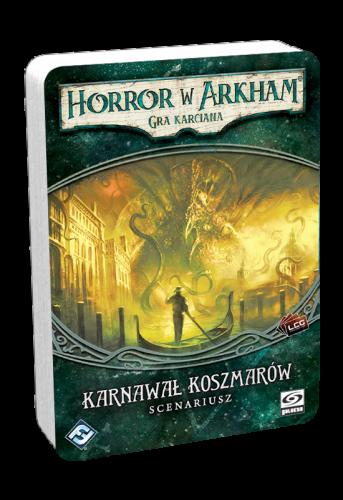 Horror w Arkham: Gra karciana - Karnawał Koszmarów - Scenariusz