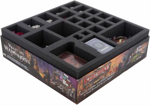 Organizer z pianki do gry Descent: Wędrówki w Mroku (druga edycja) - Cień Nerekhall