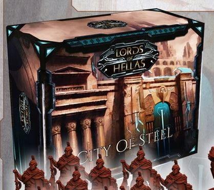 Lords of Hellas: City of Steel