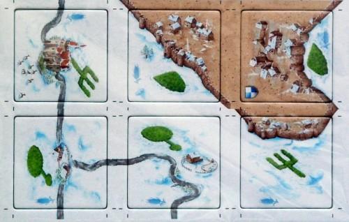 Carcassonne: edycja zimowa - Kręgi w zbożu (Kornnkreise)