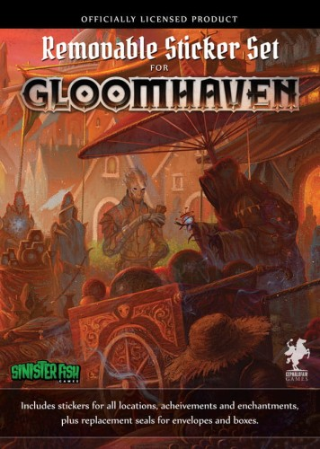 Gloomhaven: removable sticker set