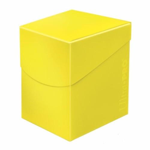 Pudełko na karty Eclipse PRO 100+ Lemon Yellow