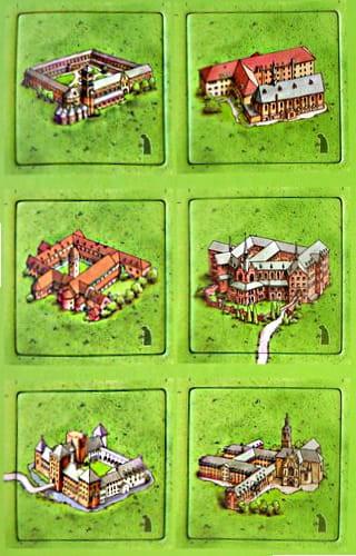Carcassonne: Holenderskie i belgijskie klasztory - mini dodatek