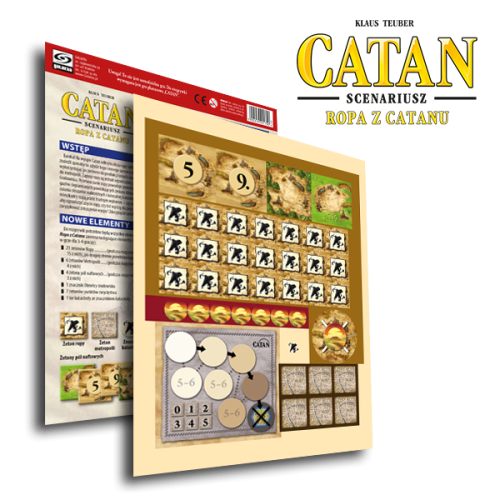 Catan (Osadnicy z Catanu): scenariusz Ropa z Catanu