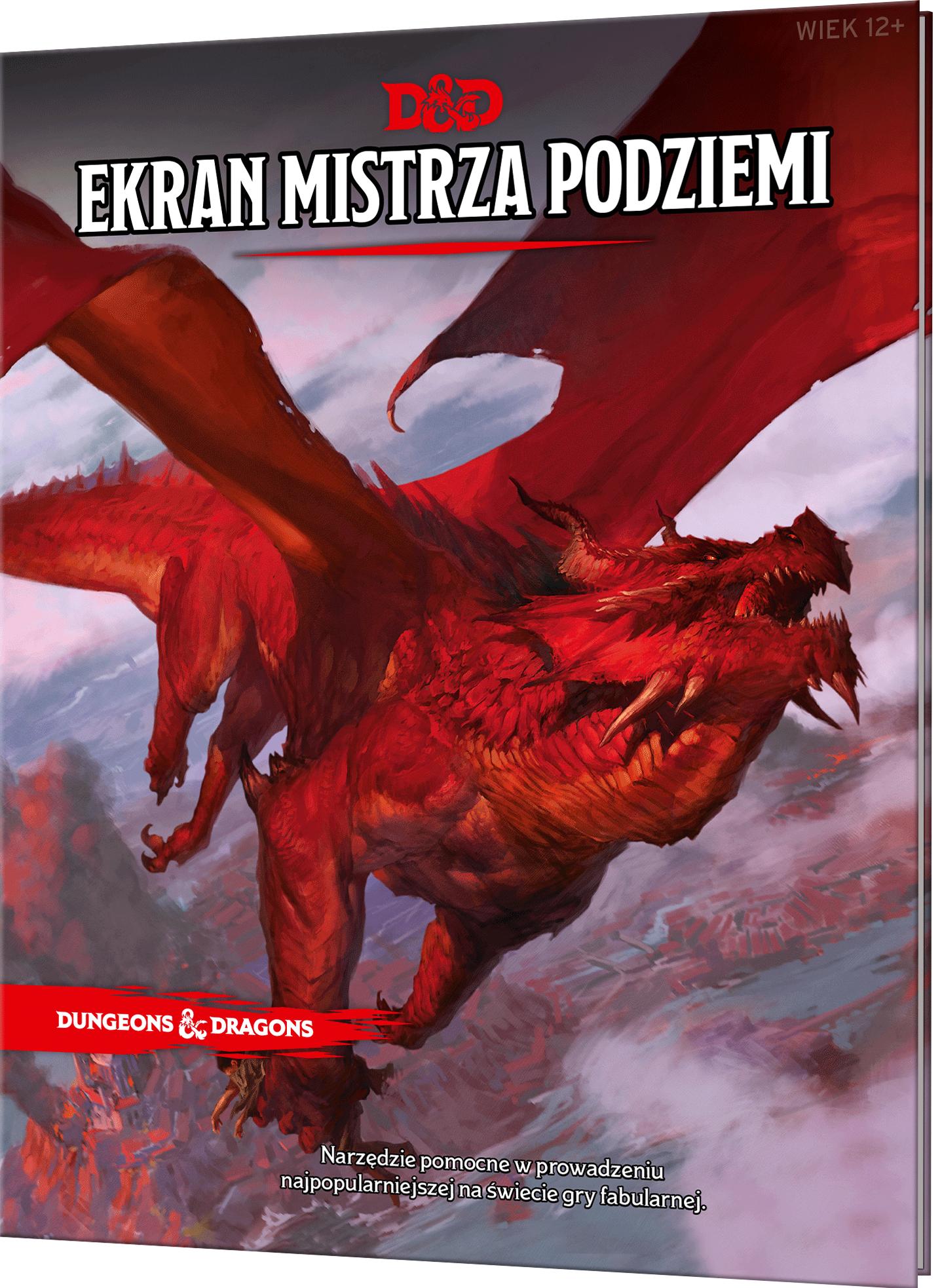 Dungeon&Dragons Ekran Mistrza Podziemi