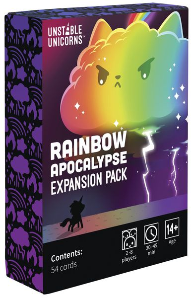 Unstable Unicorns: Rainbow Apocalypse Expansion Pack