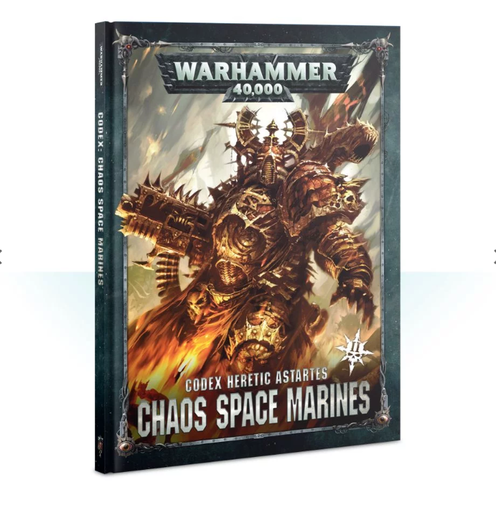 Warhammer 40000: Codex - Chaos Space Marines (hardback)