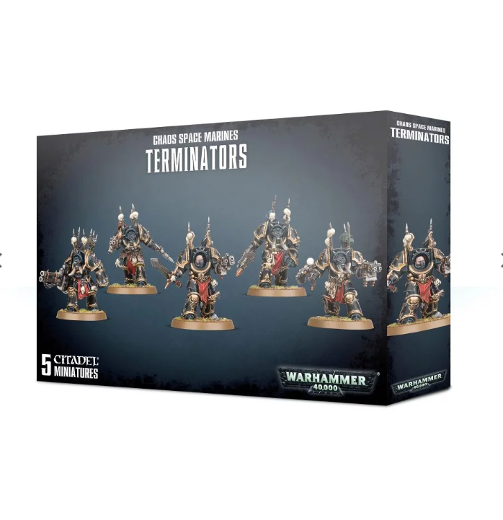 Warhammer 40,000: Chaos Space Marines Terminators