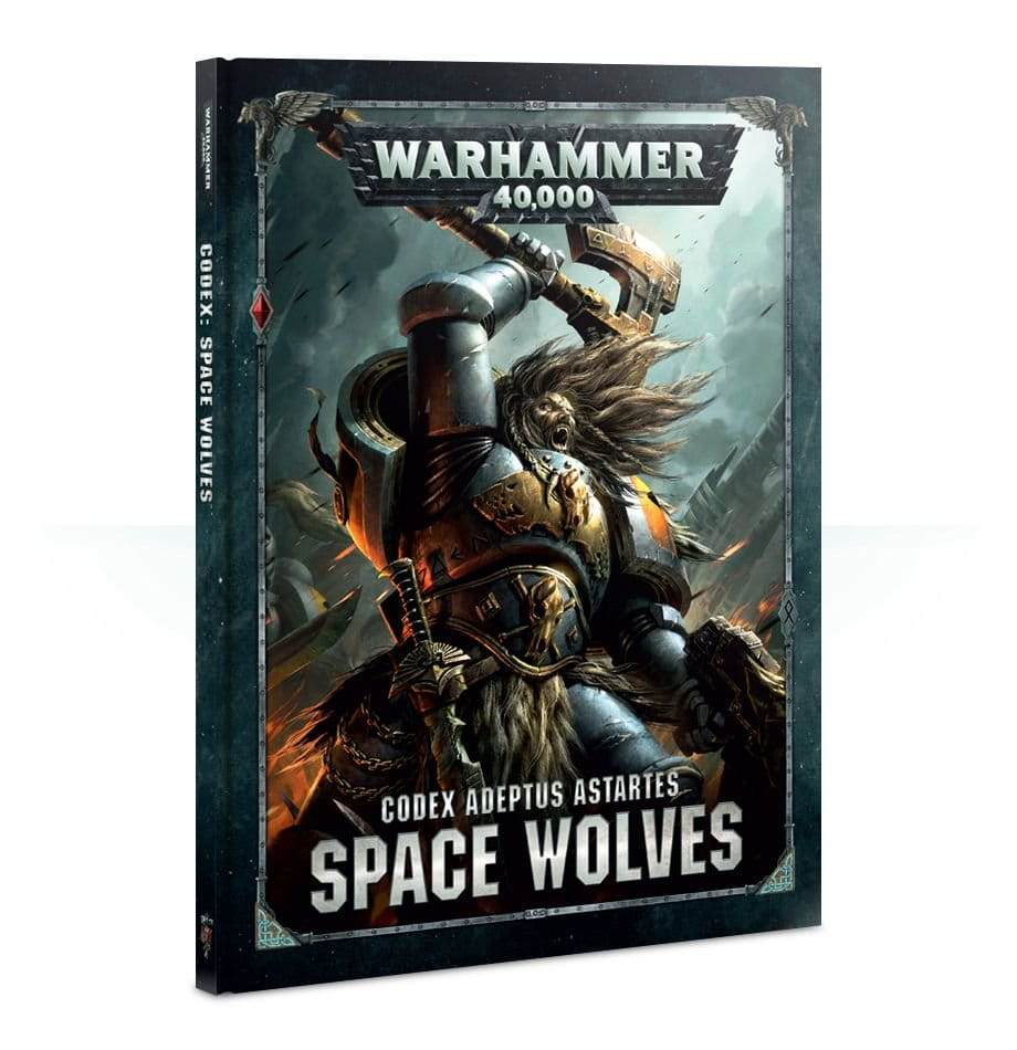 Warhammer 40,000: Codex - Space Wolves (hardback)