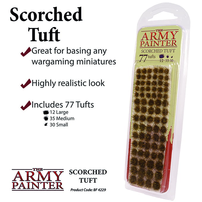 Army Painter Battlefields: Scorched Tuft