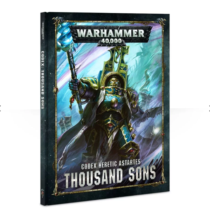 Warhammer 40,000: Codex - Thousand Sons (hardback)