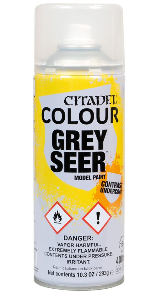 Citadel Colour: Contrast Undercoat - Grey Seer Spray