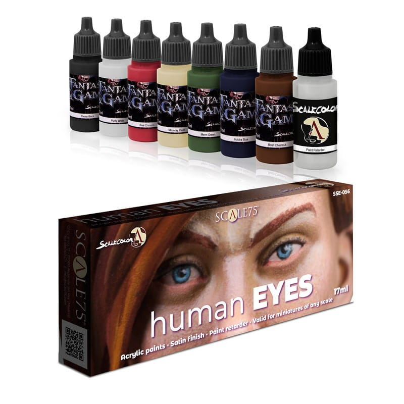 Scalecolor: Human Eyes