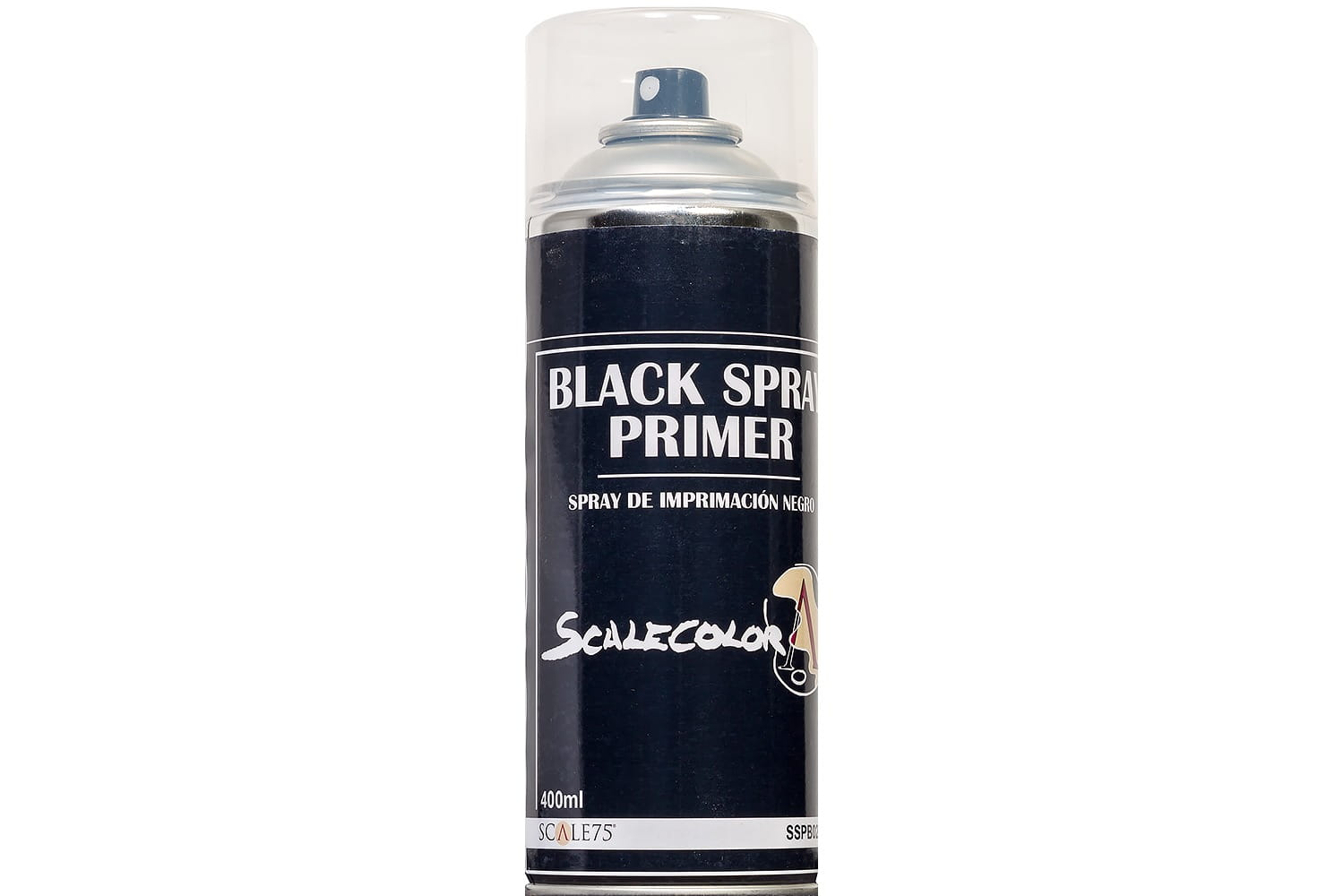 Scalecolor: Black Spray Primer (400ml)
