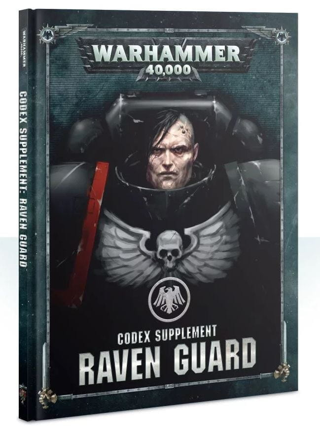 Warhammer 40,000: Codex Supplement - Raven Guard (hardback)