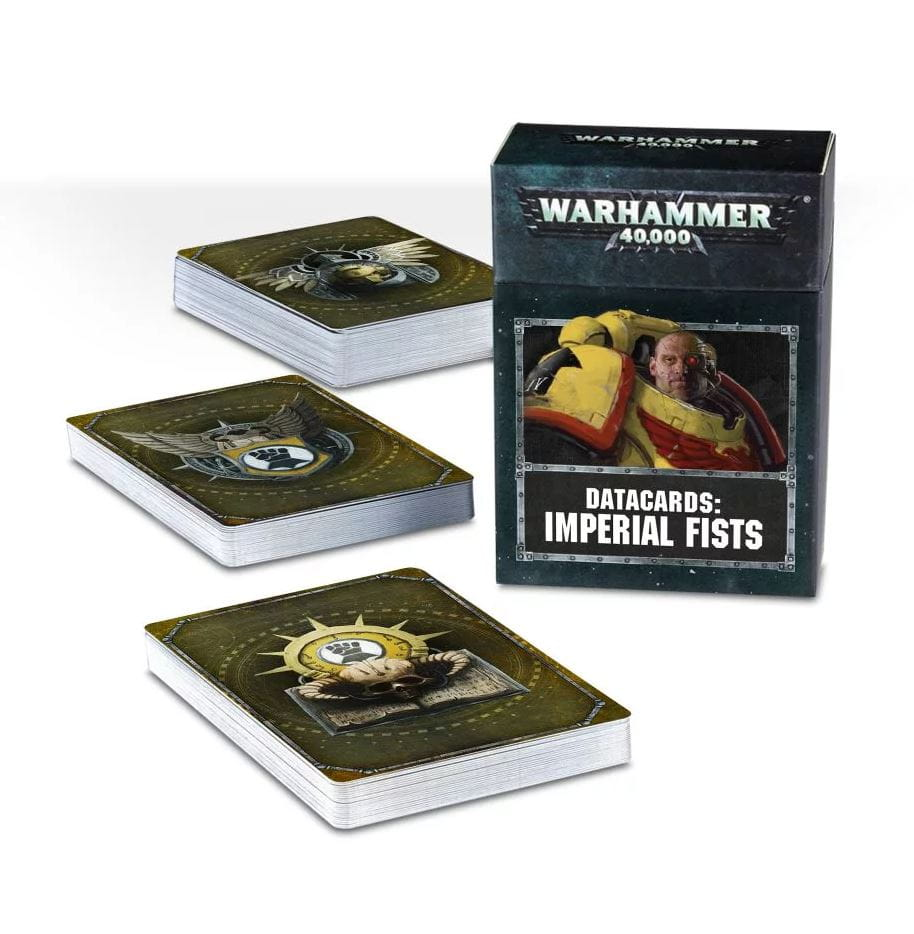 Warhammer 40,000: Datacards - Imperial Fist