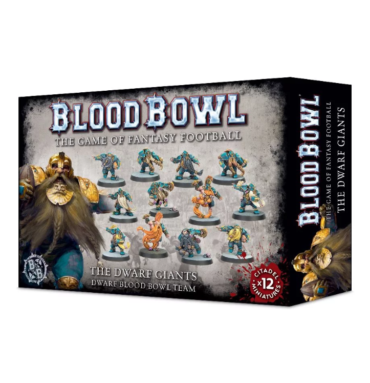Blood Bowl: The Dwarf Giants - Dwarf Team