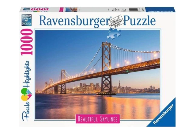 Puzzle 1000 San Francisco - Golden Gate