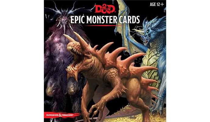 D&D RPG: Epic Monster Cards (Dungeons and Dragons RPG)