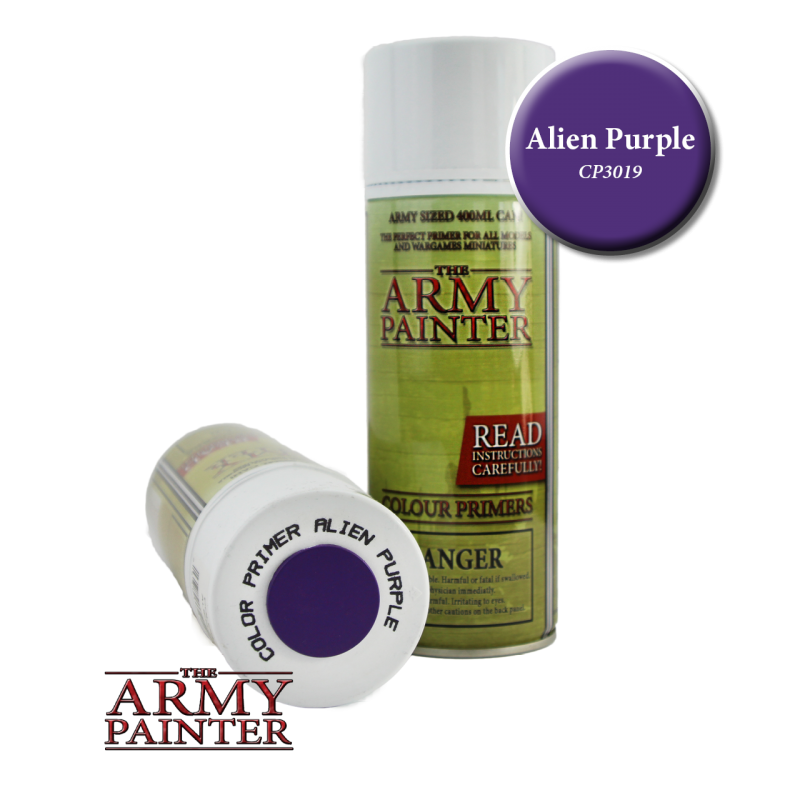 Army Painter Spray Primer - Alien Purple
