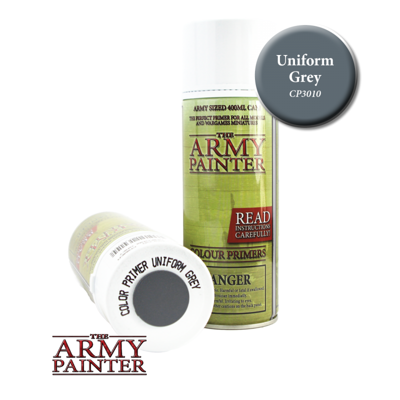 Army Painter Spray Primer - Uniform Grey
