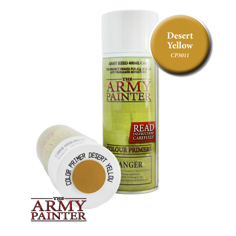 Army Painter Spray Primer - Desert Yellow