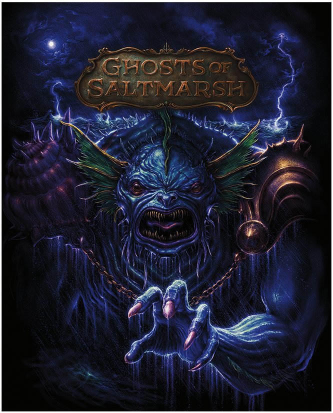 D&D RPG: Ghosts of Saltmarsh (alternative cover) (Dungeons and Dragons RPG)