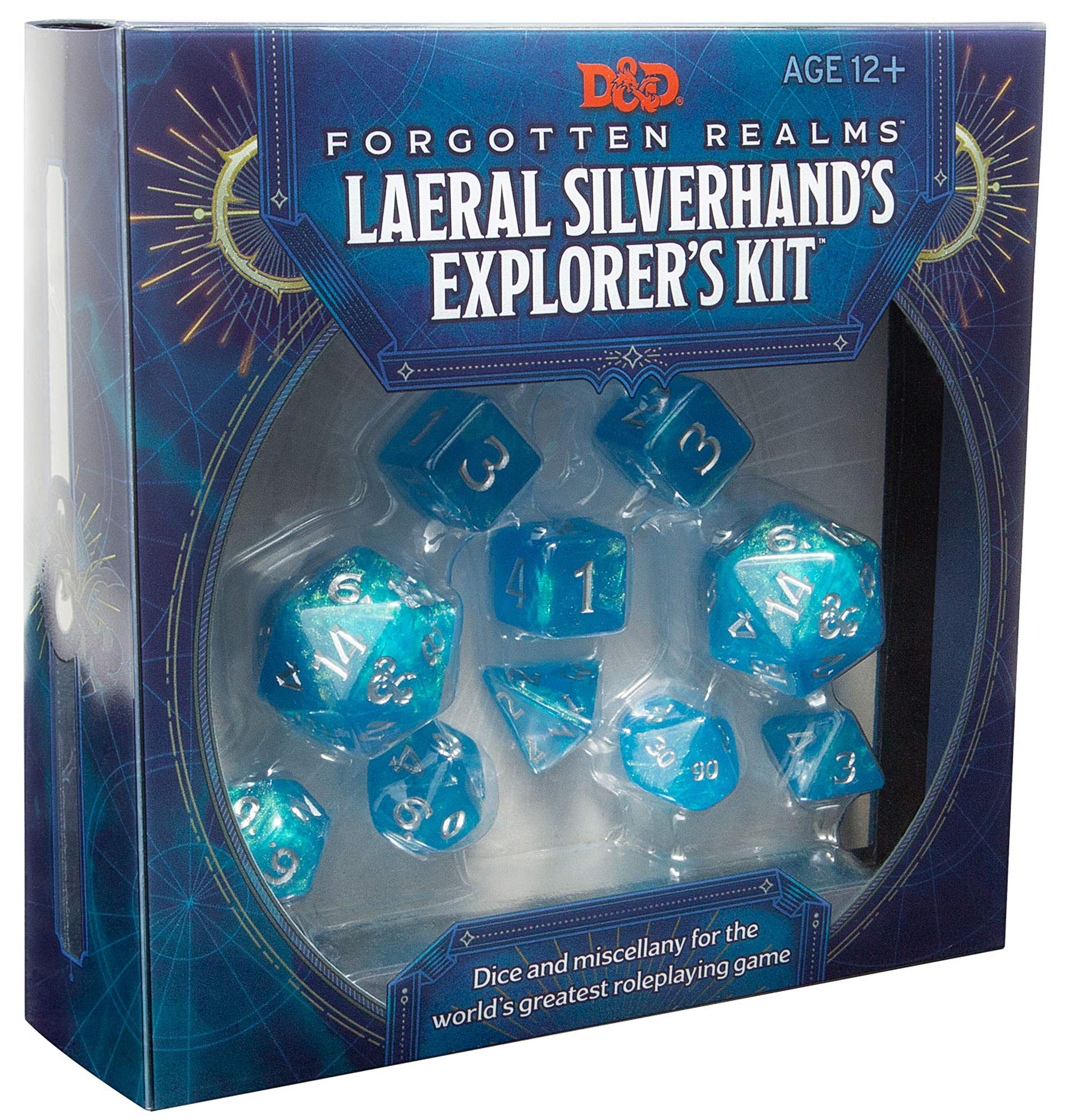 D&D RPG: Laeral Silverhand's Explorer's Kit - Dice & Miscellany
