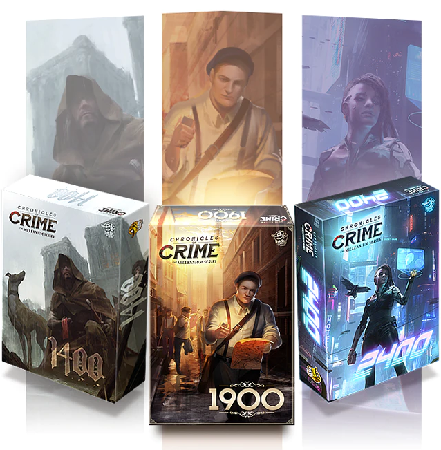 Chronicles of Crime: The Millennium Series - 3 games (Kickstarter edition)
