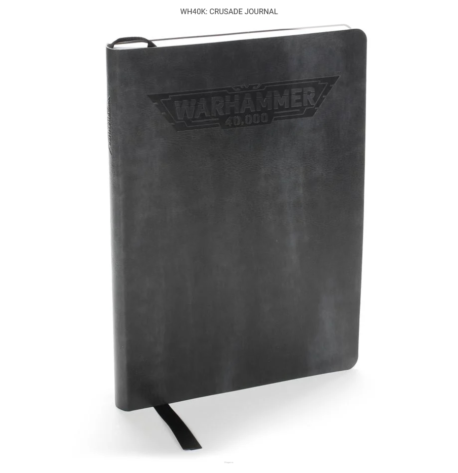 Warhammer 40,000: Crusade Journal