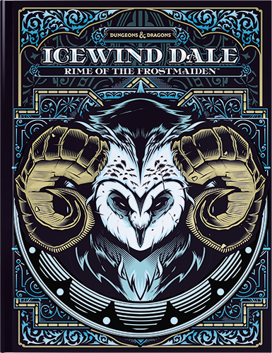 D&D RPG: Icewind Dale - Rime of the Frostmaiden (alternative cover) (Dungeons and Dragons RPG)