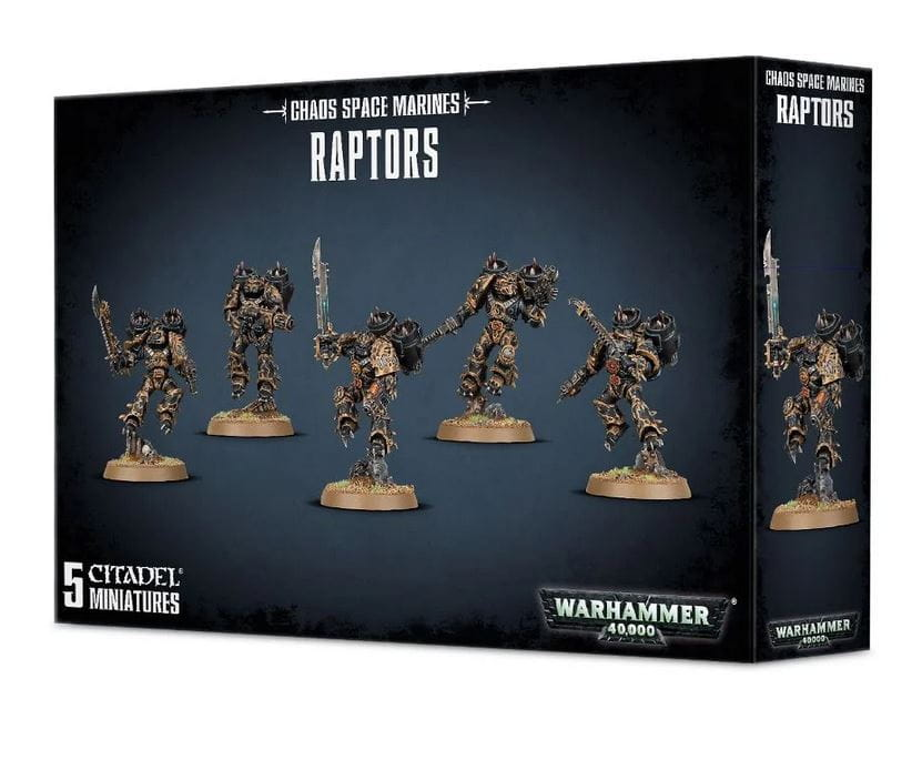 Warhammer 40,000: Chaos Space Marines Raptors/Skyborne Terror Troops