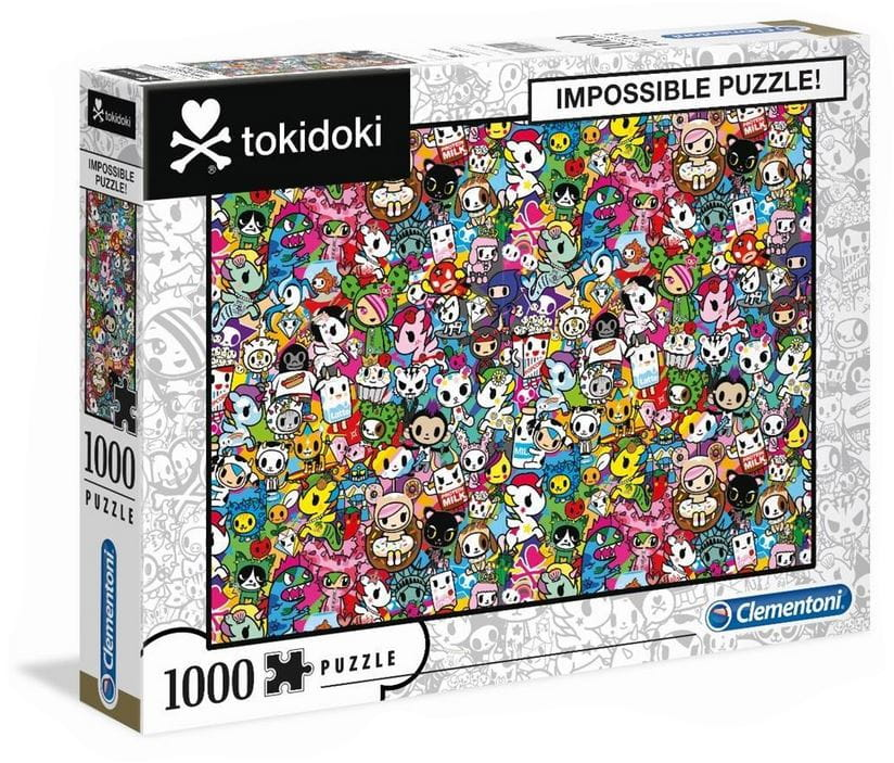 Puzzle 1000 Impossible Tokidoki