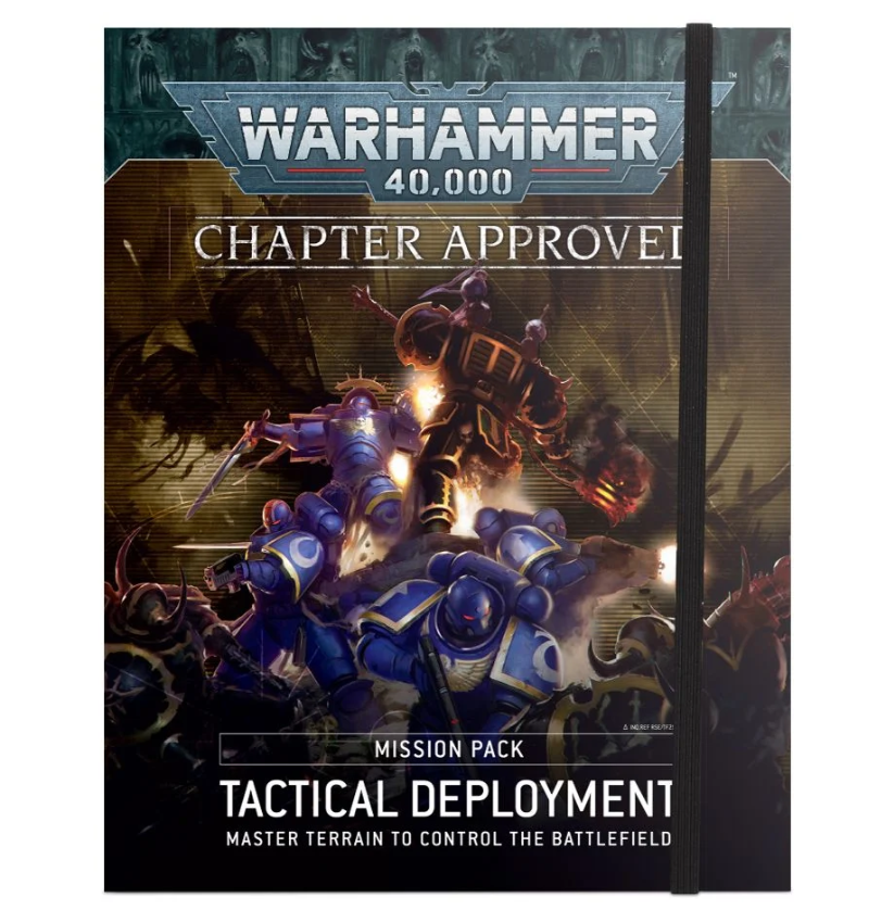 Warhammer 40,000: Chapter Approved Mission Pack - Tactical Deployment