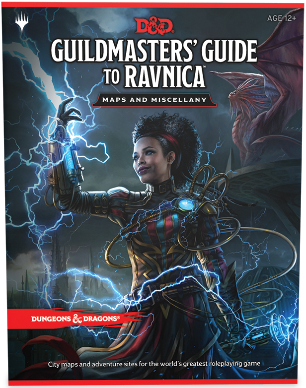D&D RPG: Guildmasters' Guide to Ravnica - Maps and Miscellany (Dungeons and Dragons RPG)