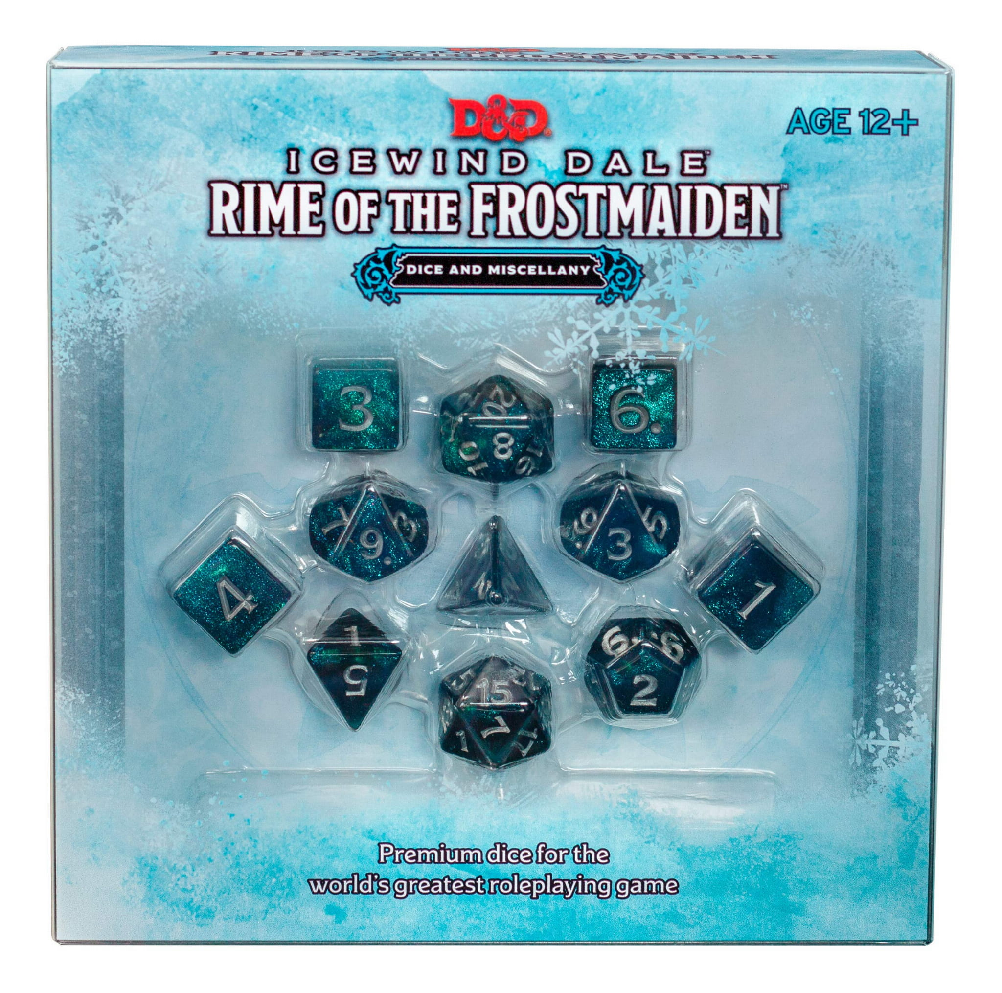 D&D RPG: Icewind Dale: Rime of the Frostmaiden Dice & Miscellany