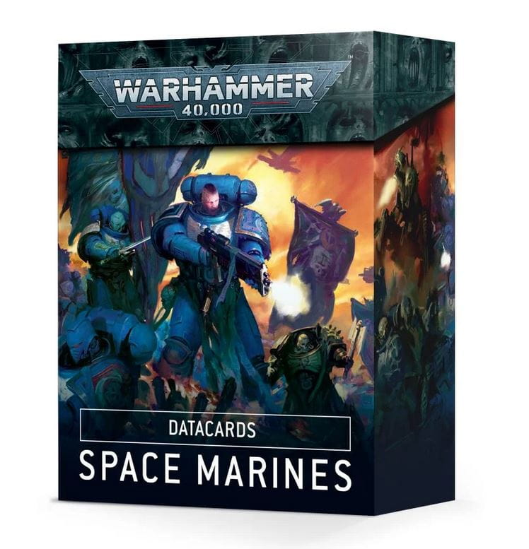 Warhammer 40,000: Datacards - Space Marines (9th edition)