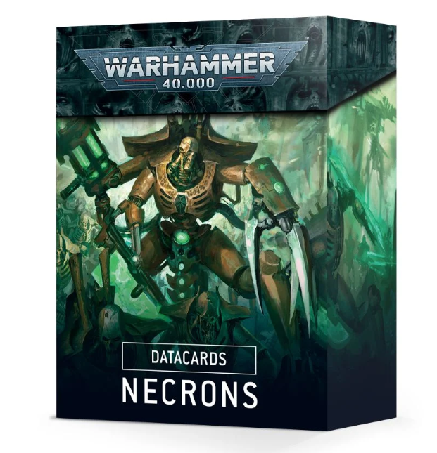 Warhammer 40,000: Datacards - Necrons (9th edition)