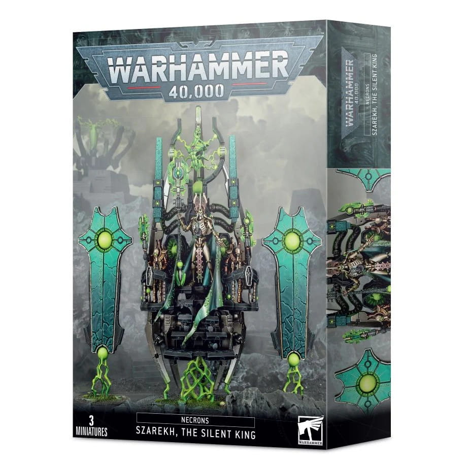 Warhammer 40,000: Necrons: Szarekh, The Silent King (9th edition)