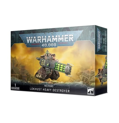 Warhammer 40,000: Necrons: Lokhusts Heavy Destroyer (9th edition)