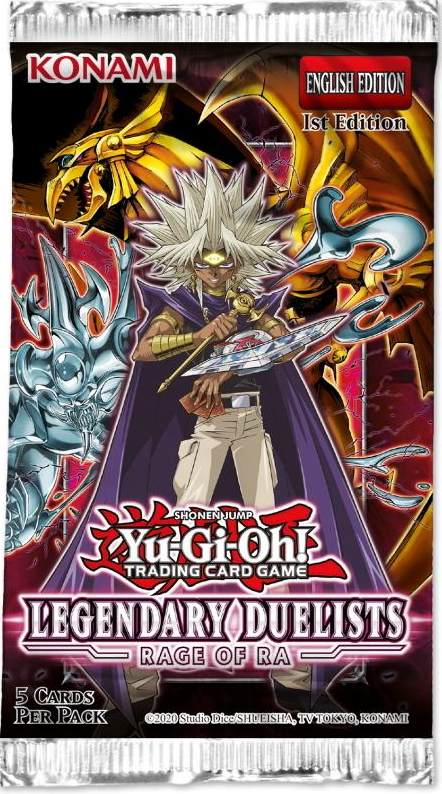 YGO TCG (Yu-Gi-Oh!) Legendary Duelists: Rage of Ra Booster
