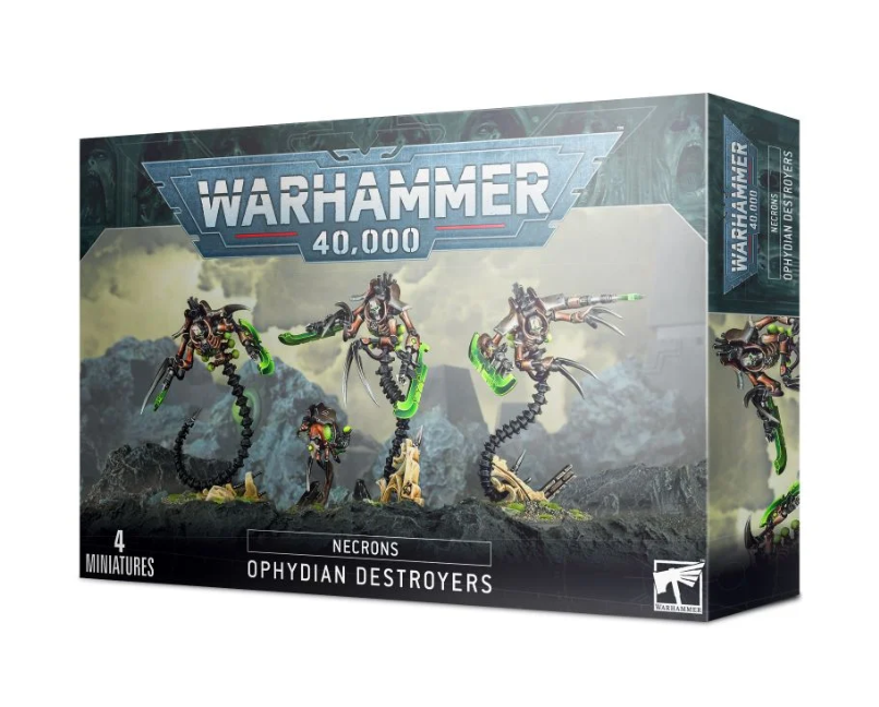 Warhammer 40,000: Necrons: Ophydian Destroyers (9th edition)