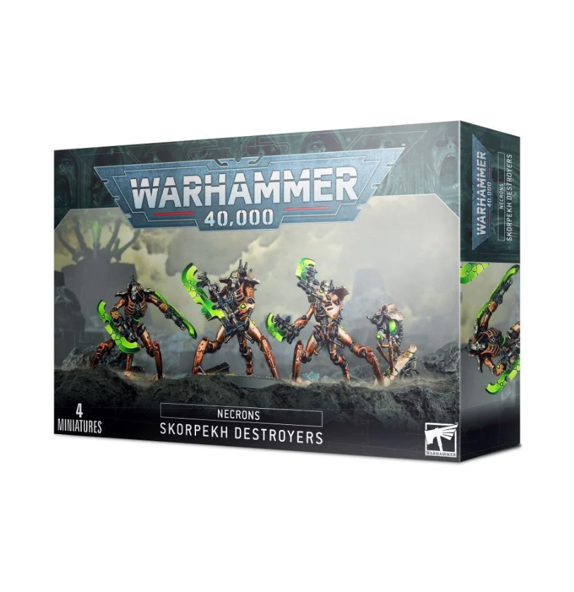 Warhammer 40,000: Necrons: Skorpekh Destroyers (9th edition)