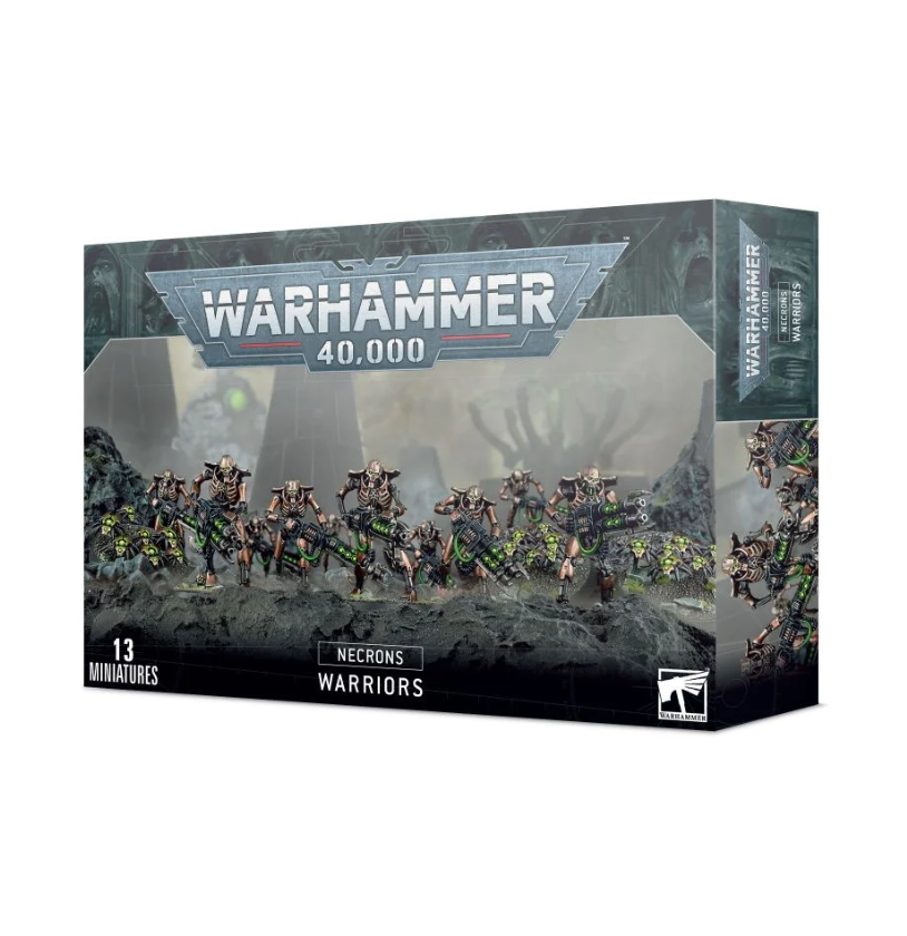 Warhammer 40,000: Necrons: Necrons Warriors (9th edition)